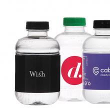 Bottiglia rPET| 250 ml |Tappo piatto