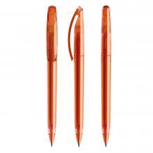 Penna a sfera | Trasparente | Refill di qualità | DS3.1TTT Arancia