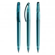 Penna a sfera | Trasparente | Refill di qualità | DS3.1TTT Turchese