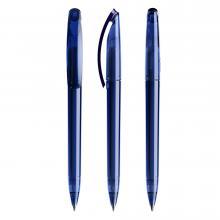 Penna a sfera | Trasparente | Refill di qualità | DS3.1TTT Navy