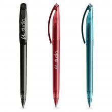Penna a sfera | Trasparente | Refill di qualità | DS3.1TTT