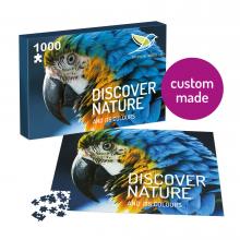 Puzzle con il tuo design | 1000 pezzi | In scatola A4