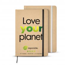 Quaderno A5 | Materiale riciclato | 80 pagine