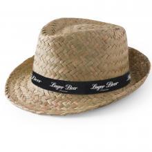 Cappello | Paglia | Nastro stampato