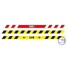 Adesivi per pavimenti | Oblungo | 100 x 5 cm | Antiscivolo