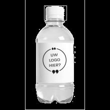 Bottiglia | 330 ml | Tappo piatto | Bolle | 433300pd Bianco