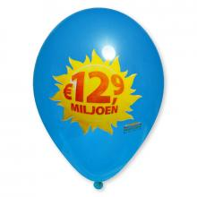 Palloncini con stampa   Ø 30 cm   A colori   14a100FC Medium blu
