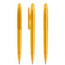 Penna a sfera | Refill di qualità | Trasparente | DS5TFF Giallo