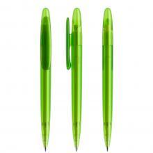Penna a sfera | Refill di qualità | Trasparente | DS5TFF Lime
