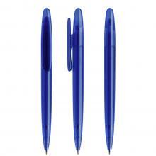 Penna a sfera | Refill di qualità | Trasparente | DS5TFF Blu scuro