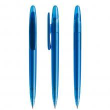 Penna a sfera | Refill di qualità | Trasparente | DS5TFF Blu