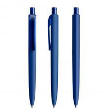 Penna a sfera   Prodir   Soft Touch   DS8PRR Blu scuro