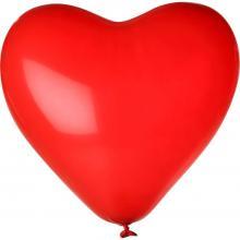 Palloncino a forma di cuore | Ø 28 cm | 14H80 Rosso