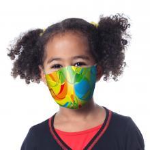 Maschera a due strati   Taglia bambino 10-16 anni   A colori    40102