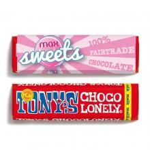 Tony's Chocolonely | Barretta di cioccolat | 50 grammi