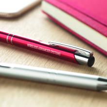 Penne metalliche veloci | Lucide | Con incisione o stampa | max037