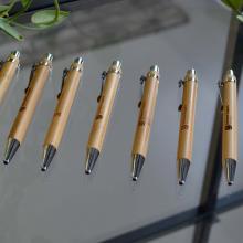 Penna di bambù   A sfera   Accessori d'argento   max047