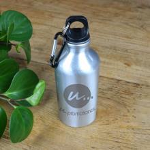 Bottiglia | Borraccia | In alluminio |Incisione | 400 ml | max111