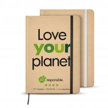 Quaderno A5 | Materiale riciclato | 80 pagine | sfoderato