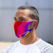 Maschera viso 1 strato | Soft Scuba | tutta la stampa | max168