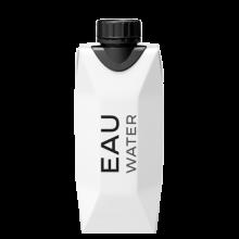 Acqua in cartone | Pacchetto Tetra Pak | 330 ml | 1 colore stampato