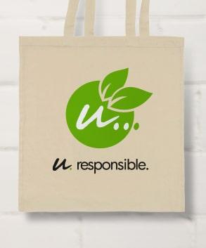 Shopper cotone personalizzate eco