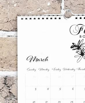 Calendari da parete maxilia