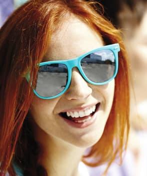 occhiali blocco