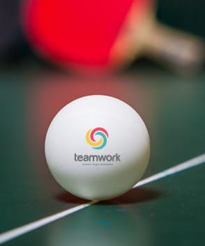 Palline da ping pong personalizzate