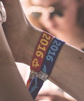 braccialetti tyvek personalizzati